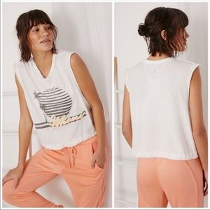 Tops - Free People Movement Bring The Heat Graphic Tee, L